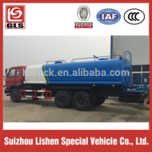 210HP 25000T 6X4 Dongfeng Carbon Steel Water Tank Truck