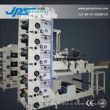 Jps480-6c-B Etiqueta de la etiqueta de la logística Máquina de impresión del rodillo a rodillo