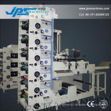 Jps480-6c-B Logistics Sticker Label Roll to Roll Printing Machine