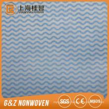 Usine de fabrication d'OEM Usinage de tissu de nettoyage et lingettes de bande d'onde