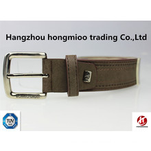 Top quality customize genuine brand of leather belt own design