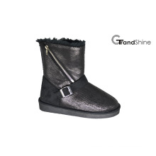 Women′s New Arrival Snow Boots with Zipper