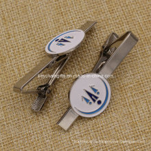 Пользовательские мягкой эмали металла галстук клип для мужчин