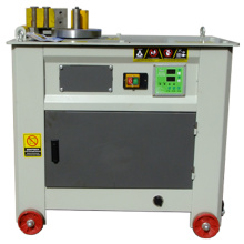 Steel stirrup bending machine