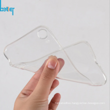 Silicone Sleeve Transparent Clear Soft Case for iPhone