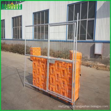 Chaîne de maille de clôture temporaire