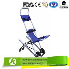 Civière médicale d'escalier d'alliage d'aluminium