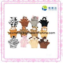 Verschiedene Arten von Tier Handpuppe