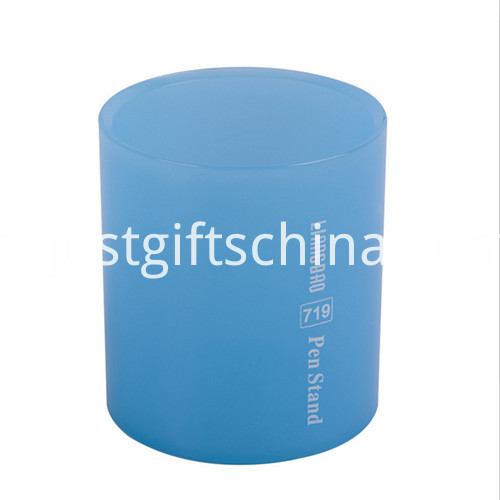 Promotional Hot Sale Plastic Pen Holder W Logo 2