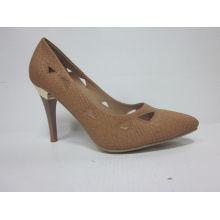 2016 Mode MID High Heel Spitzschuh Kleid Schuhe (HCY03-003)