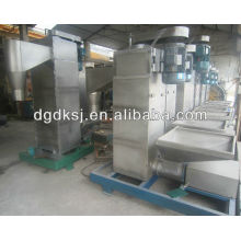 ABS / PS / PP beads / flakes centrifugal dryer machine