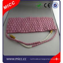 Almofada de aquecimento de cerâmica flexível de alta temperatura MICC