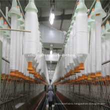 Customized Yarn Count 100% Polyester Spun Yarn for Weaving&Knitting