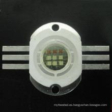 chip brillante de alta potencia estupendo 10w 30w rgb para la luz de la etapa