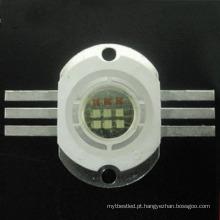 a alta potência 10w 30w rgb brilhante super conduziu a microplaqueta para a luz da fase