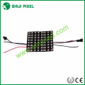 addressable programmable flexible SK6812 3535 RGB led matrix 8x8cm P10 64pixels / PC