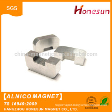 China wholesale Customized various shape pot cast Alnico Magnet