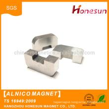 China wholesale Customized various shape pot cast Alnico Magnet