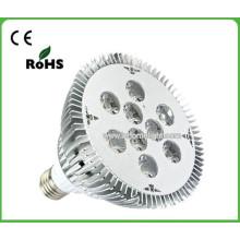 Fábrica de vendas diretas Led spot iluminação 9W E27 levou spotlight