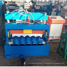 Portable China Cheap Aluminium Copper Standing Seam Roof Material Machine à vendre