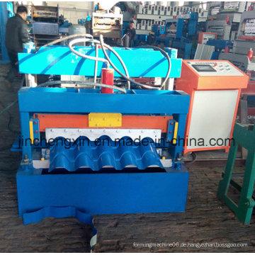 Portable China Günstige Aluminium Kupfer Standing Seam Roof Material Maschine zum Verkauf