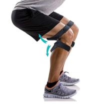 Non-slip Custom Knee Support Brace Pad Power Joint Spring Knee Booster Knee support