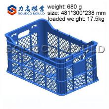 Moule de caisse de fruit d'usine de TaiZhou, fabricant de moule de caisse, moulage par injection en plastique