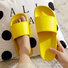 Customized Logo Pattern Multi Color Summer Waterproof Slippers Home Use Women Plastic PVC Non-Slip Slippers Wholesale