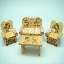 Марка КТ Фанни деревянной мебелью дом модель игрушки