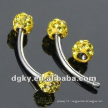 diamond eyebrow piercing body jewelry diamond eyebrow ring
