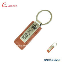 Meilleure vente émail Logo personnalisé en cuir clés