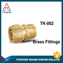 "TMOK 1/2 ""DN15 Sanitary Female Threaded Thread Pipe fitting Brass Forged Fitting"