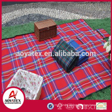 Manta al aire libre impermeable del acrílico del 100%, manta de acrílico fácil de llevar de la comida campestre, mantas de acrílico portátiles impermeables de la comida campestre que acampan