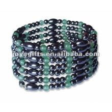 """Magnetische Averturine Perlenverpackung Armbänder & Halskette 36 """""""