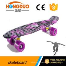 Novo design bom skate 22 polegadas, skate de peixes plásticos