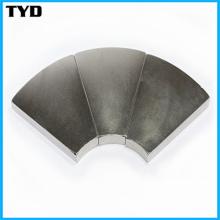 Ni-Cu-Ni Coating N50 Strong NdFeB Segment Permanent Magnet
