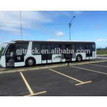 13.8M 120 person loading Electric Tourism Shuttle Bus New Energy City Bus 13.8m airport passenger shuttle bus
