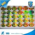 Etiqueta de holograma personalizado em 3D, etiqueta personalizada anti-contrafacção
