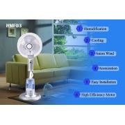 Humidifier Fans Cooler Mist Househould Mist Fan Spray Fan Water Fan Low Pressure Mist Fan Humidify Fan Misting Fan Home Use Fan