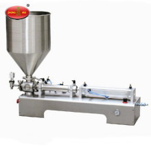 Semi automatic cosmetic cream paste bottle filling machinery