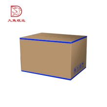 Cajas de envío impresas personalizadas de almacenamiento reciclado especial más barato de calidad superior