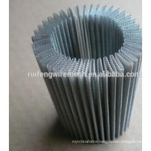Pleated Stainless Steel Wire Mesh