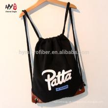 Förderung langlebige Leinwand Rucksack Tasche
