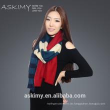 2015 Mode Kaschmir Wolle Schal gedruckt Kaschmir Wolle Schal