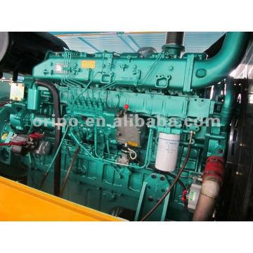 China, gerador, yuchai, motor, 400kw, reboque, montado, gerador, gerador