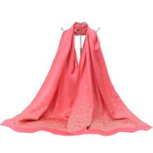 Neue Art und Weise chinesischer Art-Dame Long Wrap Jacquard-Schal