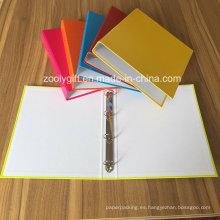 Color surtido A4 Carpeta de 4 carpetas de archivos de papel