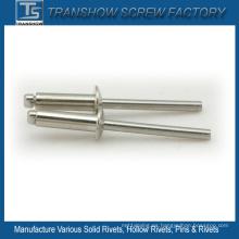 Remaches ciegos de acero inoxidable Ss304 de 5X20mm
