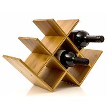 Antique kitchen furniture 8 bottles Custom wine rack