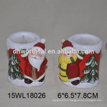 Bougeoir en céramique tealight au noël pour 2016 décoration de noel